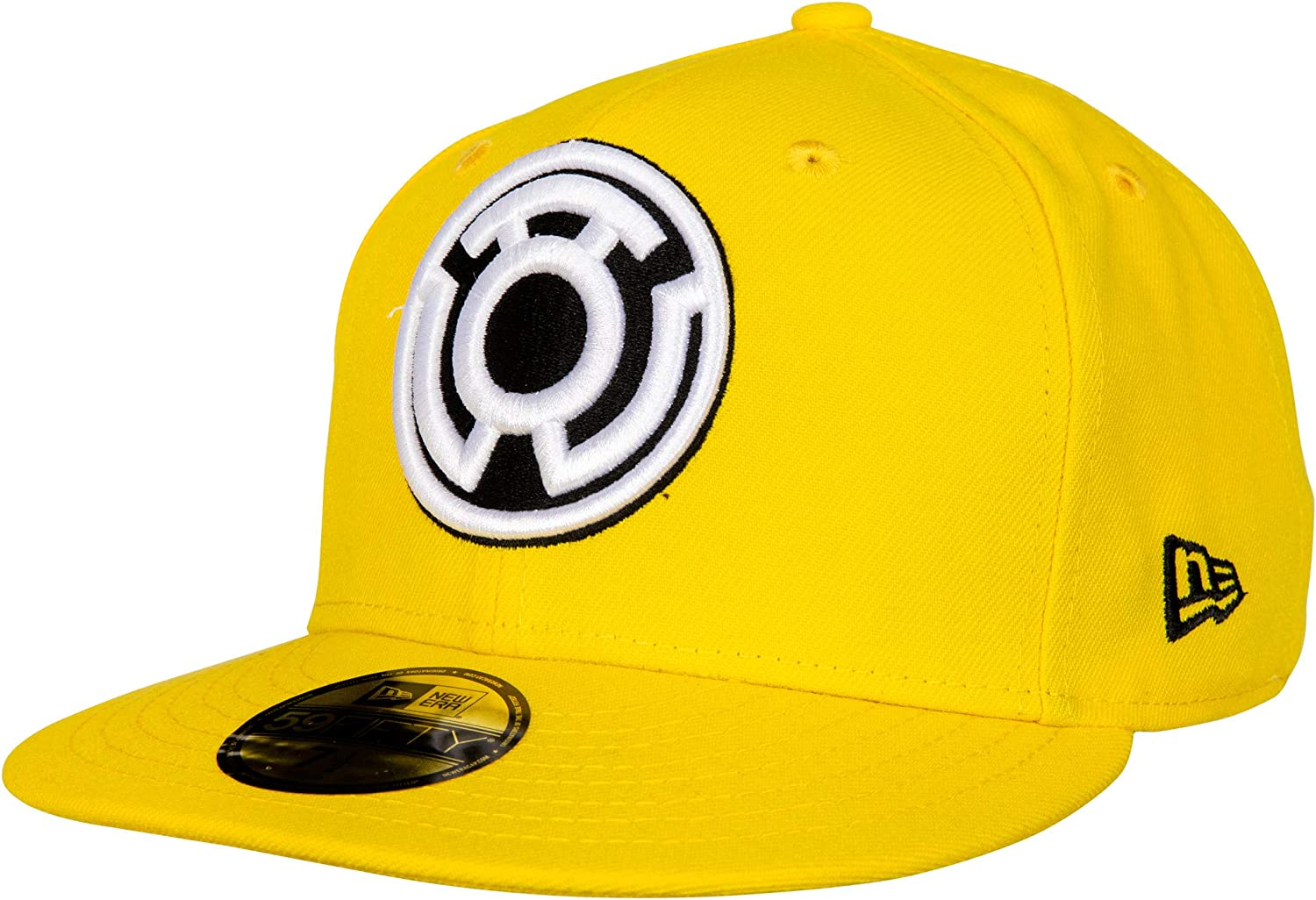 New Era Yellow Lantern Sinestro Corp Color Block 59Fifty Fitted Hat