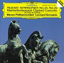 Mozart: Symphonies Nos.25 & 29 / Clarinet Concerto