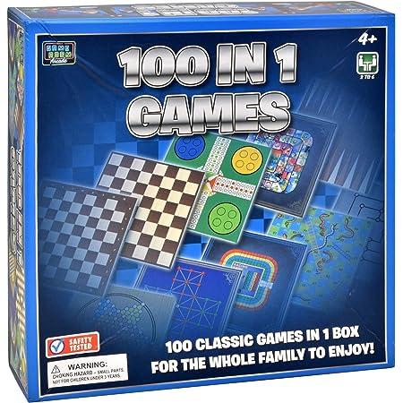 Colección De Juegos Clásicos 100 Juegos De Mesa Familiares Para Adultos Y Niños Toys Games