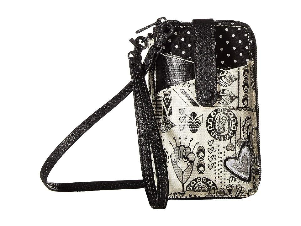 Sakroots Artist Circle Smartphone Wristlet (Optic Dream Song) Wristlet Handbags