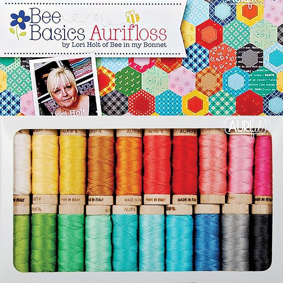 Lori Holt Bee Basic Aurifil Thread Kit 20 Small Spools Aurifloss LH30BB20