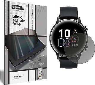 dipos I ögonskyddsfolie matt kompatibel med Honor Magic Watch 2 42 mm synskyddsfolie skärmskydd sekretessfilter (medveten ...