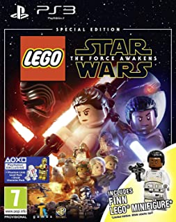 LEGO star wars : The Force awakens special edition with finn minifigure (PS3)