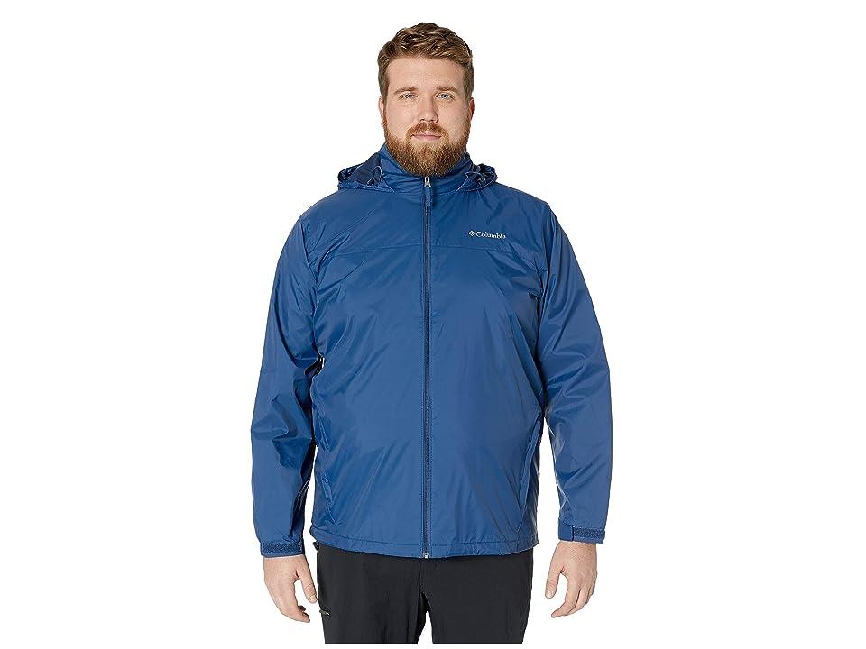 Columbia Big Tall Glennaker Lake Lined Rain Jacket (Carbon) Men