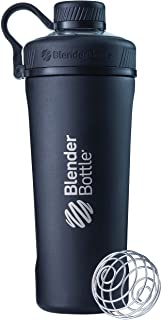 Blender Bottle 500623 Radian Insulated Stainless Steel Shaker Bottle, Matte Black, 26-Ounce