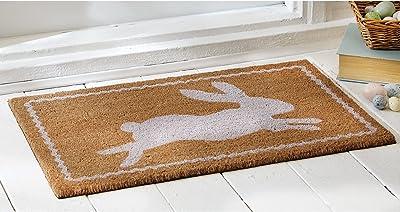Mud Pie Easter Bunny Doormat