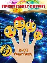 Finger Family Rhymes - Emoji Finger Family