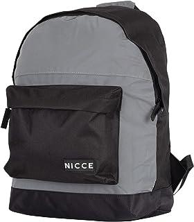 Nicce NATE082 Core Backpack for Men - Grey/Black