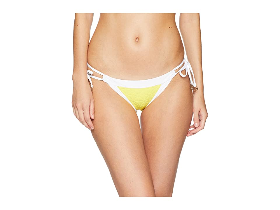 Trina Turk Sunshine Jacquard Tie Side Hipster Bottom (Yellow) Women