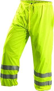 OccuNomix LUX-TEM-YL/XL Class E Premium Mesh Pant, Large/X-Large, Yellow