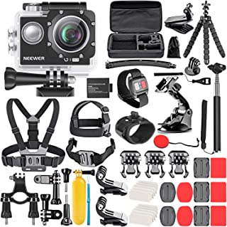 Neewer G1 Ultra HD 4K Action Camera Kit Includes 98 ft...