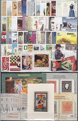 Goldhahn  erreich 2016 postfrisch  Nr. 3243-3305 Block 89-92 Briefürken für Sammler