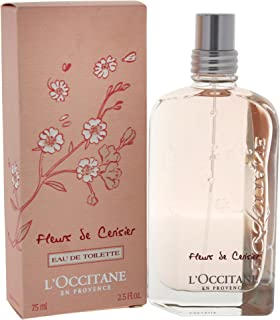 L'Occitane Cherry Blossom Eau de Toilette, 2.5 Fl Oz