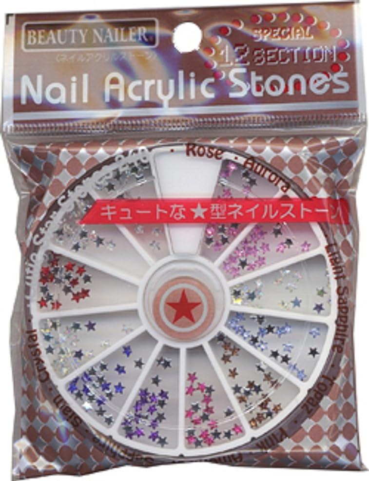 密豊富な万歳BEAUTY NAILER ネイルアクリルストーン NAA-11 スターストーン9色