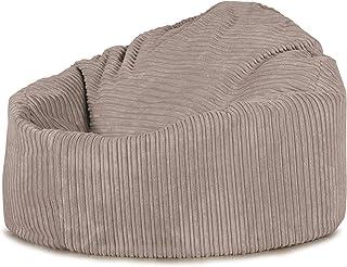 Grand Lounge Pug®, Pouf Poire, Petite Mammouthu0027, Côtelé Vison
