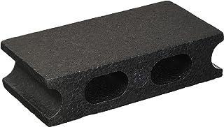 スチロールブロックプチ ブラック W200×H50×D100