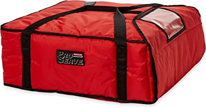 Rubbermaid Commercial PROSERVE Pizza Delivery Bags, Large, Red, FG9F3700RED