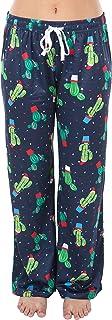 Funky Junque - Pantalones de pijama para mujer, ligero, para salón de Navidad