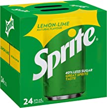 Sprite Lemonade Soft Drink Multipack Cans, 24 x 375 ml