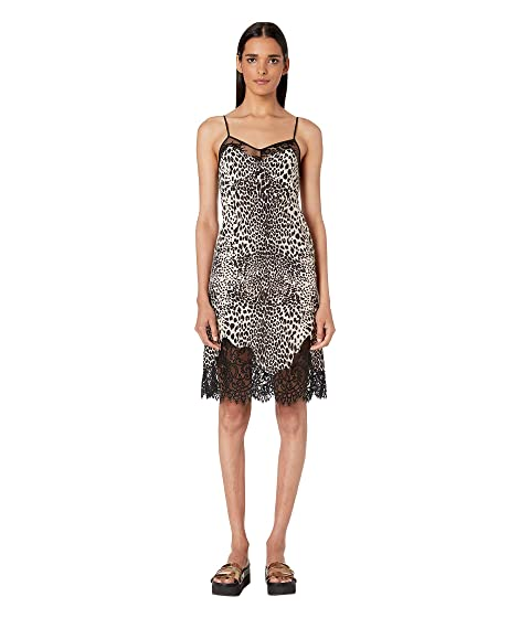 McQ Lace Panel Slip Dress