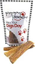 """product image for Peppy Pooch Beef Tendons 5"""" Sticks – 12 Pack. All-Natural American Beef Chews for Dogs. Made in USA."""