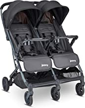 Sponsored Ad - Joovy Kooper X2 Double Stroller, Lightweight Stroller, Compact Fold with Tray, Forged Iron