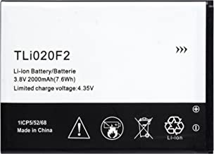Bastex Replacement Battery for Alcatel One Touch Fierce 2 D7040