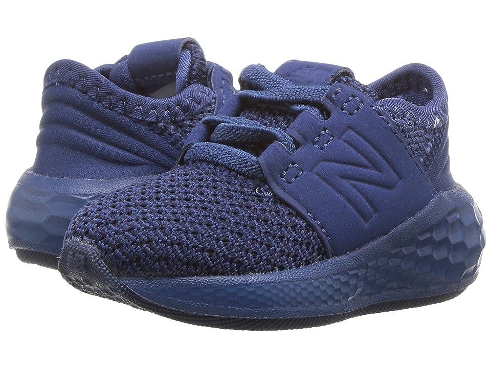 New Balance Kids KVCRZv2I Nubuck (Infant/Toddler) (Moroccan Tile/Black) Boys Shoes