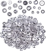 100 Gram Bali Style Antique Tibetan Silver Findings Jewelry Making DIY Metal Alloy Spacer Beads Deluxe New Mix 200-260pcs