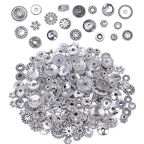 12mm Round Bright Silvertone Metalized Metallic Beads