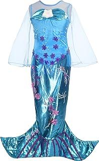 Dressy Daisy Girls' Princess Mermaid Costumes Fancy Dress Up Halloween Costume