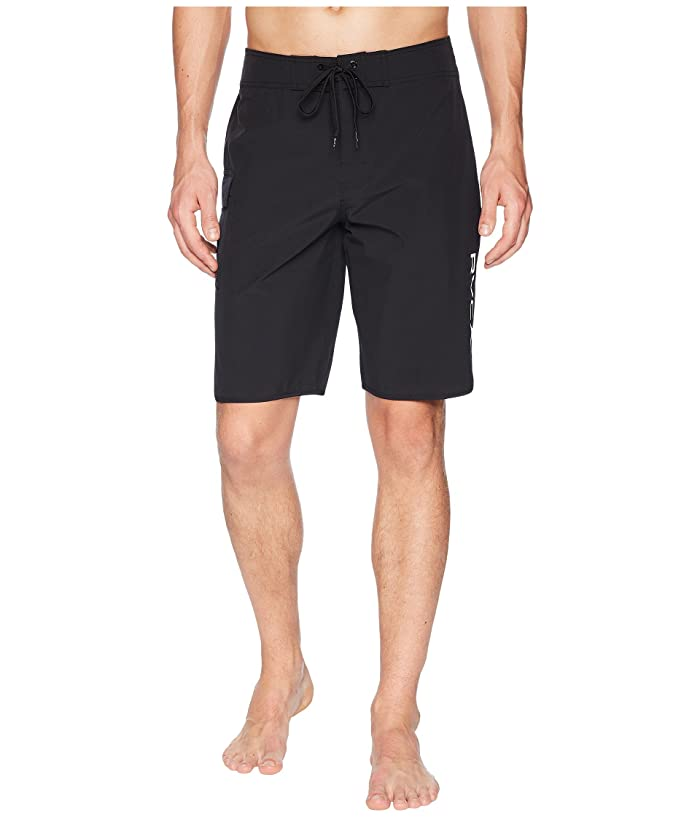 RVCA Eastern 20 Trunk (All Black) Men