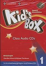 Kid's Box Level 1 Class Audio CDs (4) British English