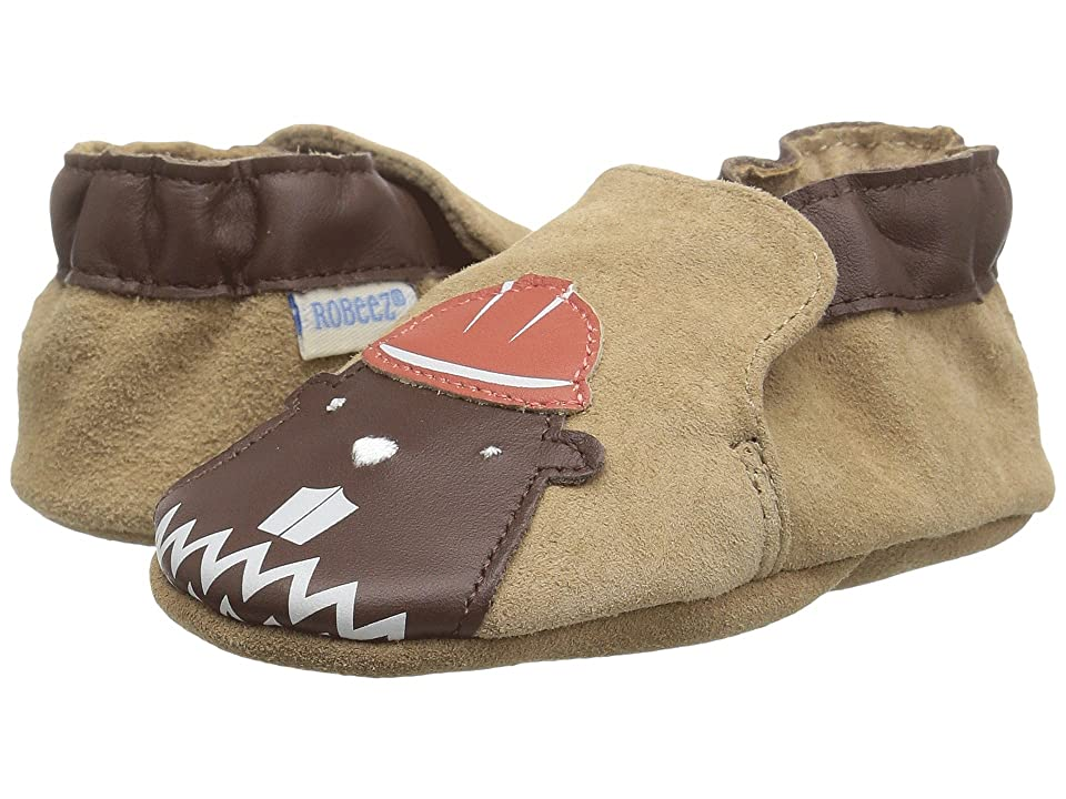 Robeez Beaver Soft Sole (Infant/Toddler) (Brown) Boy