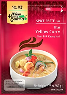 Asian Home Gourmet: Thai Yellow Curry 1.75 oz (Pack of 12)