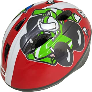 Bell Sports 7064377 Zoomer Red Race Cars Toddler, Helmet