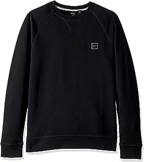 Hugo Boss 男式 Wyan 圆领运动衫 带编织标志贴片