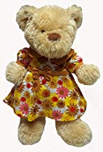 Doll Clothes Superstore Stuffed Animal Fall Colors Flower Dress Fits 20-24 Inch Bears, Dogs, Monkeys