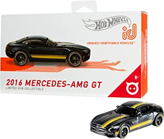 Hot Wheels id Vehicle 2016 Mercedes AMG GT with Embedded NFC Chip, 1:64 scale