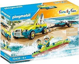 Playmobil Beach Car with Canoe