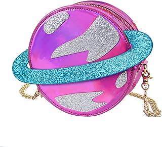 Stunning Parent-child Circular planet party bag women laser planet orbit bag shoulder bag C54