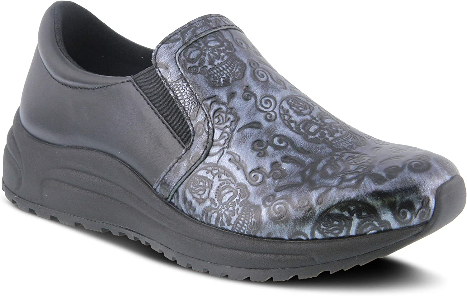 Spring service Step Professional Women's famous Clog Active-Skull
