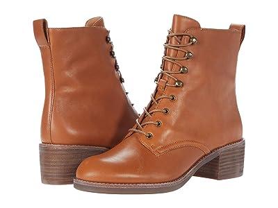 Madewell Patti Lace-Up Boot (English Saddle) Women