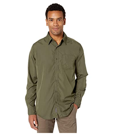 ExOfficio BugsAway(r) Covas Long Sleeve Shirt (Nori) Men