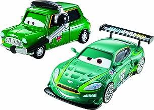 Disney Pixar Cars Nigel Gearsley and Austin Littleton Diecast Vehicle, 2-Pack