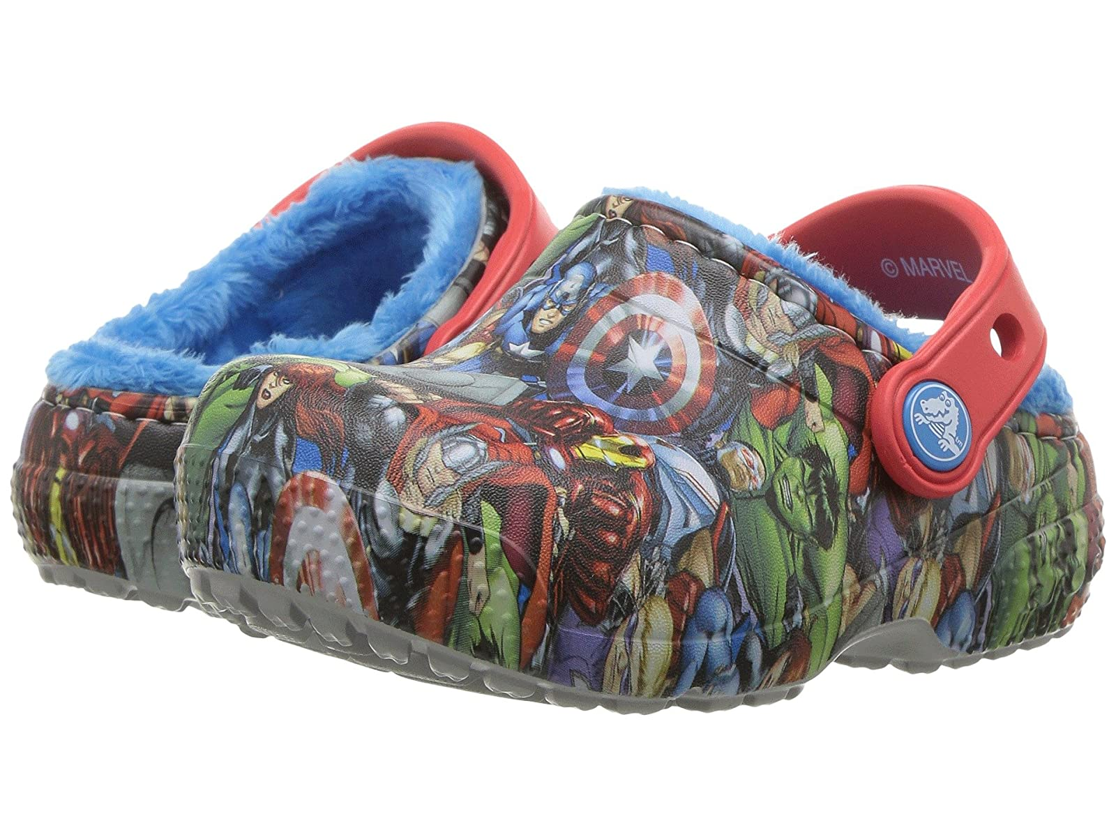 Crocs Kids FunLab Avengers Lined Avengers FunLab (Toddler/Little Kid) 2566e4