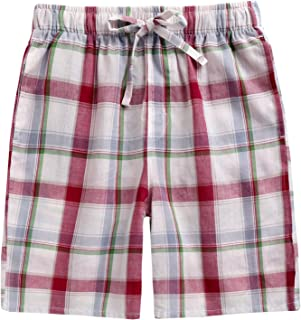 4a314a5e9fbe7 TINFL 6-14 Years Big Boys Plaid Check Soft Lightweight 100% Cotton PJS  Lounge