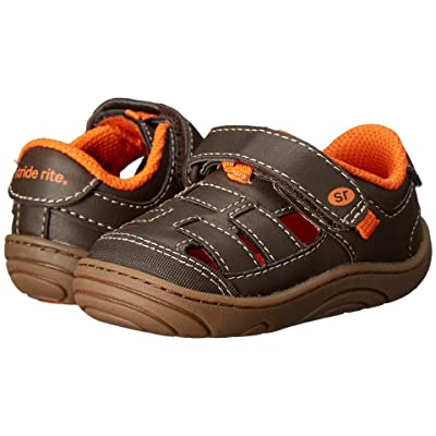 Stride Rite Foster (Little Kid/Big Kid) (Brown Synthetic) Boy