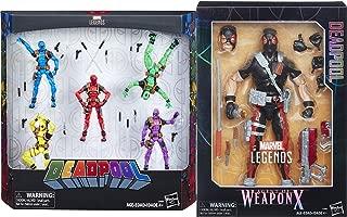 Agent Dead Squad Figure Pack Weapon-X Marvel 12
