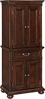 Colonial Classic Dark Cherry Pantry Cabinet by Home Styles